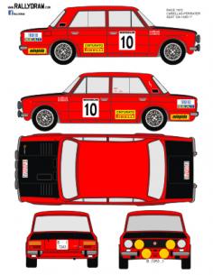 Seat 1430-124 Cañellas Race 1972