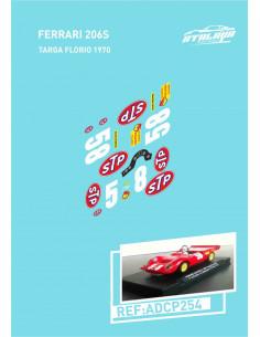 Ferrari 206S Targa Florio 1970