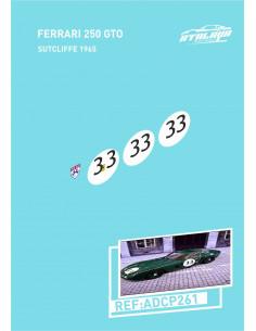 Ferrari 250 GTO Sutcliffe 1965