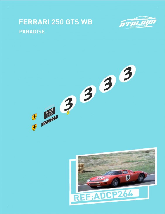 Ferrari 250 GTS WB Paradise