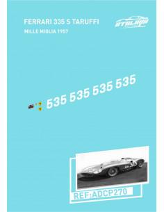 Ferrari 335 S Mille Taruffi Miglia 1957