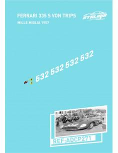 Ferrari 335 S Mille Von Tripps Miglia 1957
