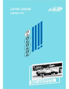 Lister Jaguar Sebring 1959