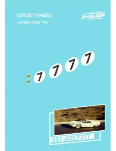 Lotus 19 Moss Laguna Seca 1961