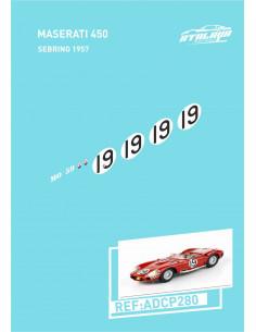 Maserati 450 Sebring 1957