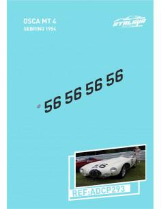 Osca FS 372 Moss 1957