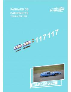 Panhard DB camionette Tour Auto 1958