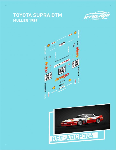 Toyota Supra DTM Muller 1989