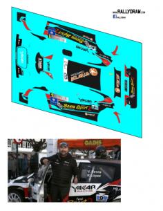 Citroen C3 R5 Senra Noia 2019