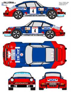 Porsche 911 Zanini Ypres 1980