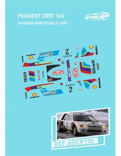 Peugeot 205 T16 Vatanen Montecarlo 1985