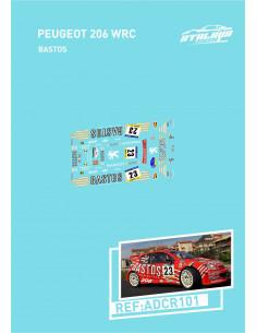 Peugeot 206 WRC Bastos