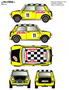Mini Cooper Lazaro Pikolin 1970