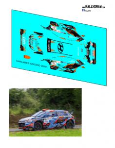 Hyundai i20 R5 Ares Cocido 2019