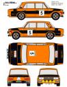 Seat 1430-124 Babler Race 1973