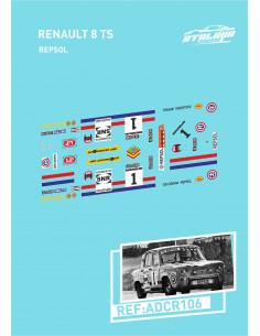 Renault 8 TS Repsol