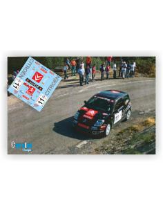 Citroen C2 Daniel Sordo & Carlos Del Barrio Rallye Montilla Moriles 2004
