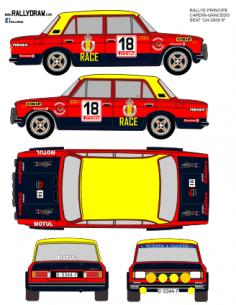 Seat 1430-124 cardin Principe 1980