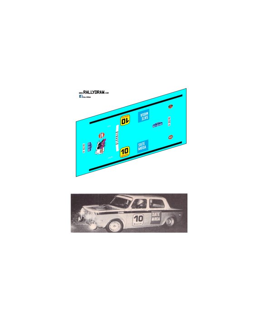 Simca 1000 Zanini Costa brava 1972