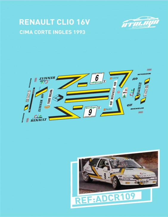 Renault Clio 16V Cima CorteIngles 1993