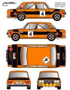 Seat 1430-124 Zanini Race 1974