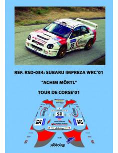 Subaru Impreza WRC'01 - Achim Mortl - Tour de Corse 2001