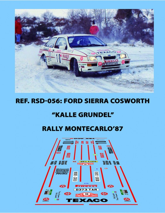 Ford Sierra Cosworth Grundel Montecarlo 1987