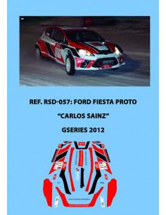 Ford Fiesta Proto Carlos Sainz GSeries 2012