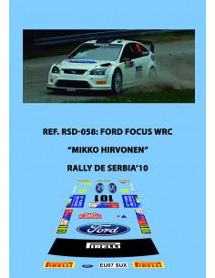 Ford Focus WRC Hirvonen Servia 2010