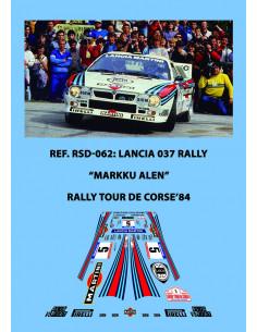 Lancia 037 Rally Alen Tour de Corse 1984