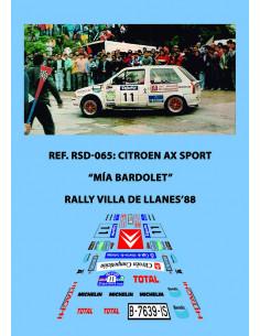 Citroen AX Sport Bardolet Llanes 1988