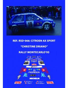 Citroen AX Sport Driano Montecarlo 1993