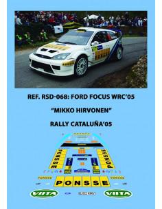 Ford Focus WRC Hirvonen RACC 2005