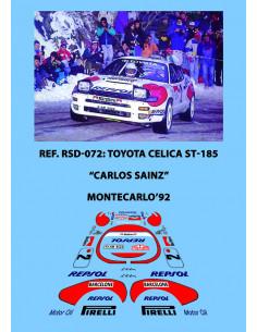 Toyota Celica ST185 Sainz Montecarlo 1992