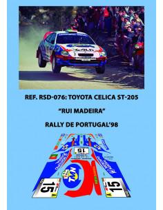 Toyota Celica ST205 Madeira Portugal 1998