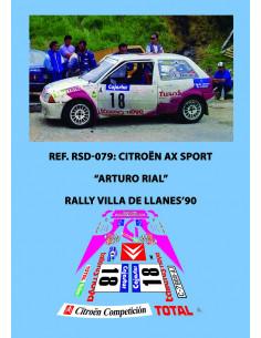 Citroen AX Sport Rial Llanes 1990