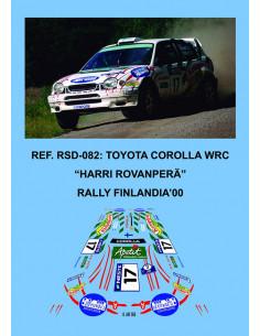 Toyota Corolla WRC Rovanpera Finlandia 2000