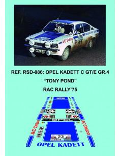 Opel Kadett C GT/E Pond RAC 1975