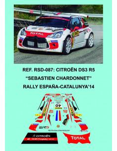 Citroen DS3 R5 Chardonnet RACC 2014