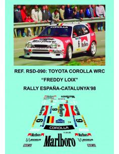 Toyota Corolla WRC Loix RACC 1998