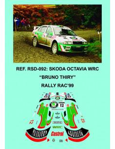 Skoda Octavia WRC Thiry RAC 1999