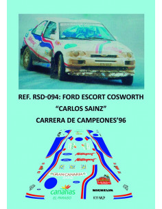 Ford Escort Cosworth Sainz ROC 1996