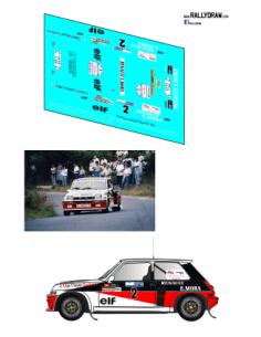 Renault 5 Turbo Mora Ferrol 1985
