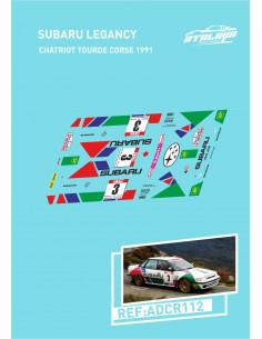 Subaru Legacy Chatriot Tourde Corse 1991