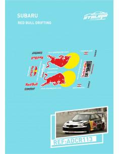 Subaru RedBull Drifting