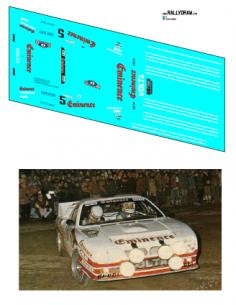 Lancia 037 Clarr Costa Brava 1983