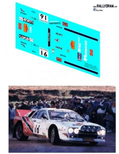 Lancia 037 Pons Catalunya 1984