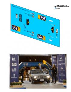 Fiat 131 Zanini Costa Brava 2019