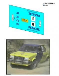 Talbot Horizon Zanini Race 1985