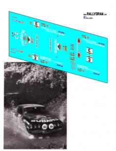 Subaru Leone Zanini Chipre 1980